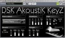 DSK AkoustiK KeyZ - Free Piano VST Plugins | MegaVST com
