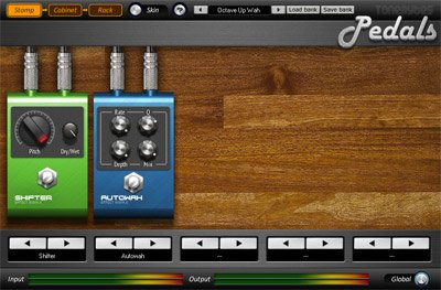 ToeBytes pedal screenshot